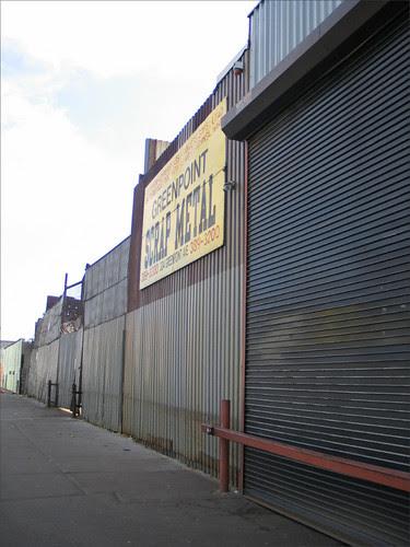 Greenpoint Scrap Metal Sign
