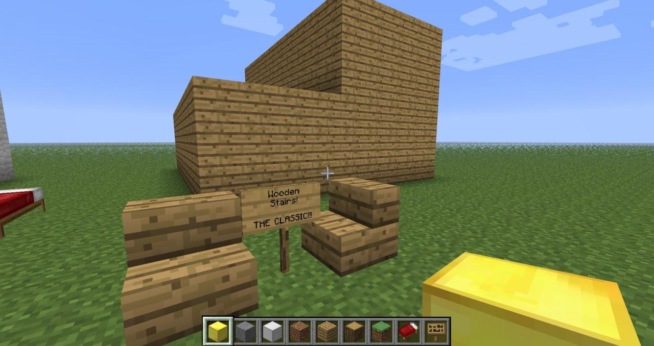 Minecraft Giant blocks (some look crap, some look great!) Minecraft
