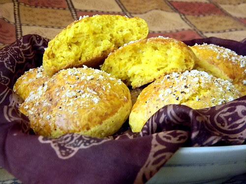 Pumpkin Parmesan Scones