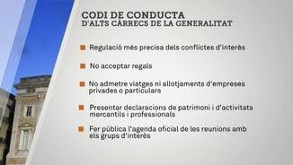 Alguns dels principis del codi de conducta