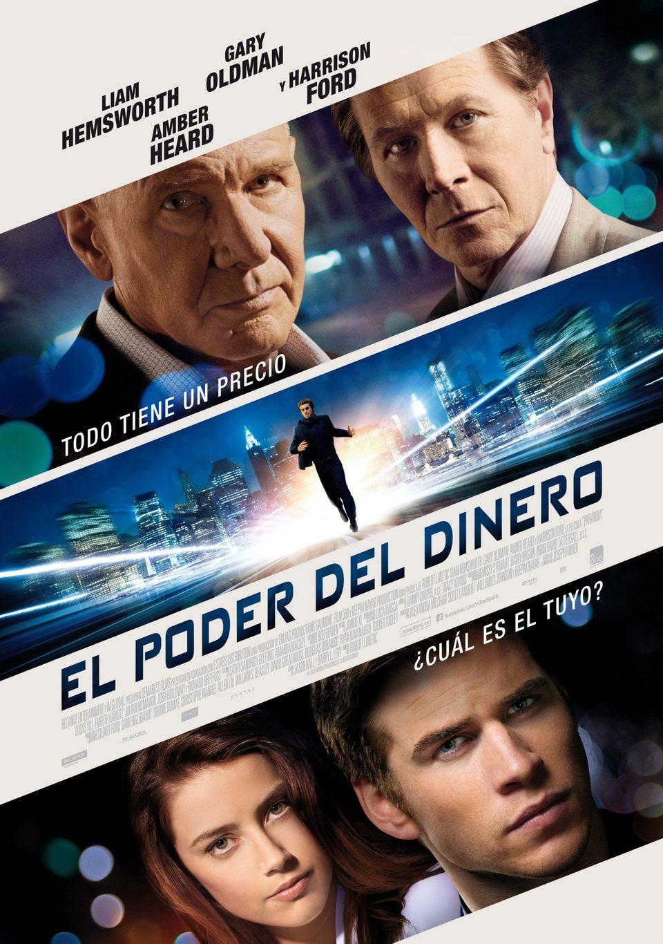 El poder del dinero (Paranoia) cartel cine, blog soloyo