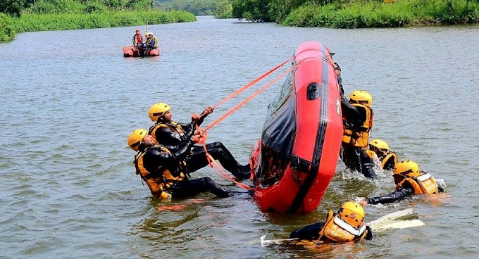 Swiftwater Search and Rescue training concludes