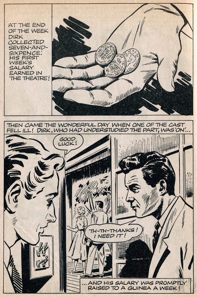 Dirk Bogarde comic 3