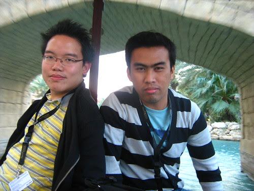 With Filipino filmmaker Richard Legaspi