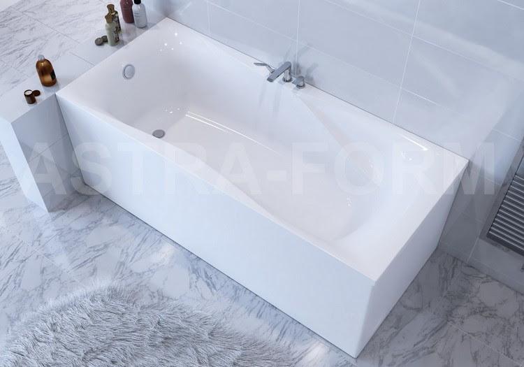 Новинка от Astra-Form - ванна Вега Люкс 180*80 см