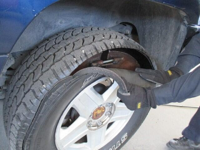 CBP officers discover drug load in tires