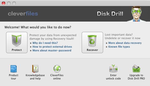 Disk drill Aplikasi Data Recovery Terbaik di Mac OS