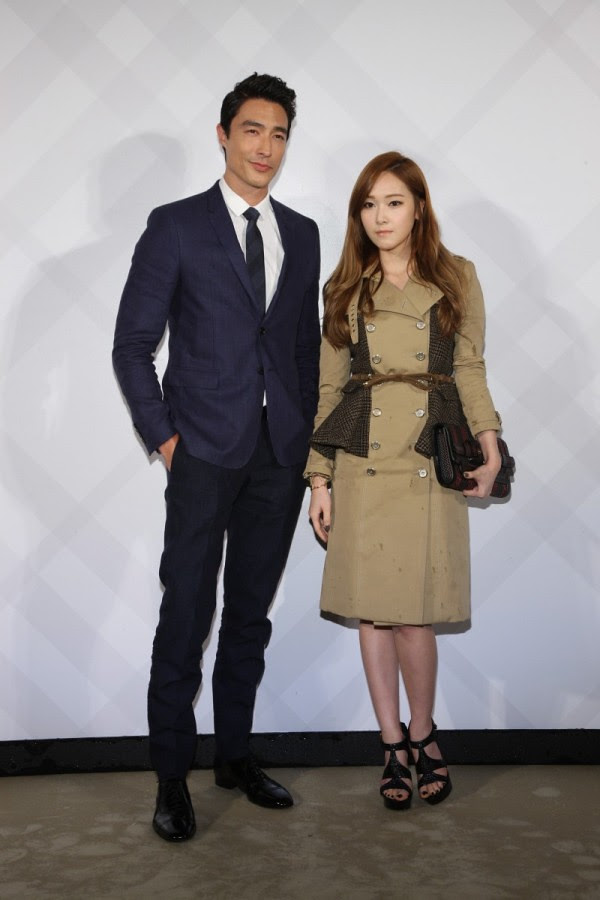 5 - Daneil Henney and Girls' Generation Jessica wearing Burberry