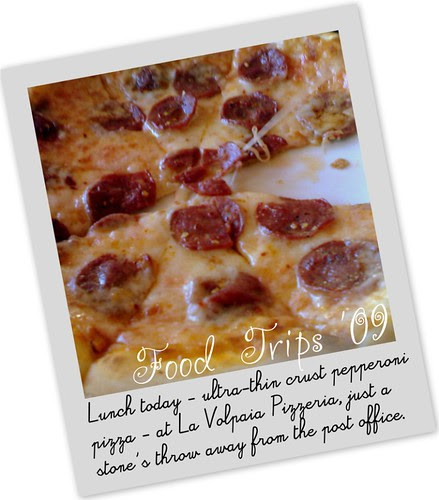 La Volpaia pizza
