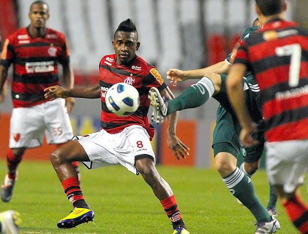 Willians Flamengo x Palmeiras (Foto: André Portugal / VIPCOMM)