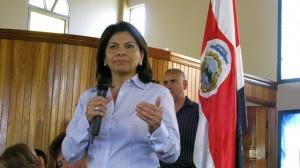 En la imagen Laura Chinchilla, presidenta de la República. CRH