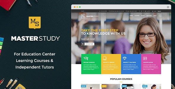 Masterstudy v1.4.1 - Education Center WordPress Theme