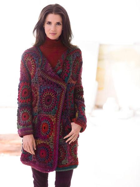 Granny Square Coat Pattern Free Crochet Pattern