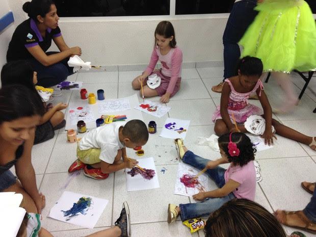 A noite é uma criança é um evento promovido pelo curso de Pedagogia da Estácio Zona Norte  (Foto: Marina Gadelha/Divulgação)