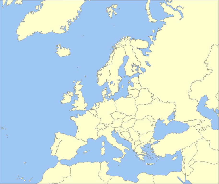 Fileblank Map Of Europe W Boundaries Svg Wikimedia Commons