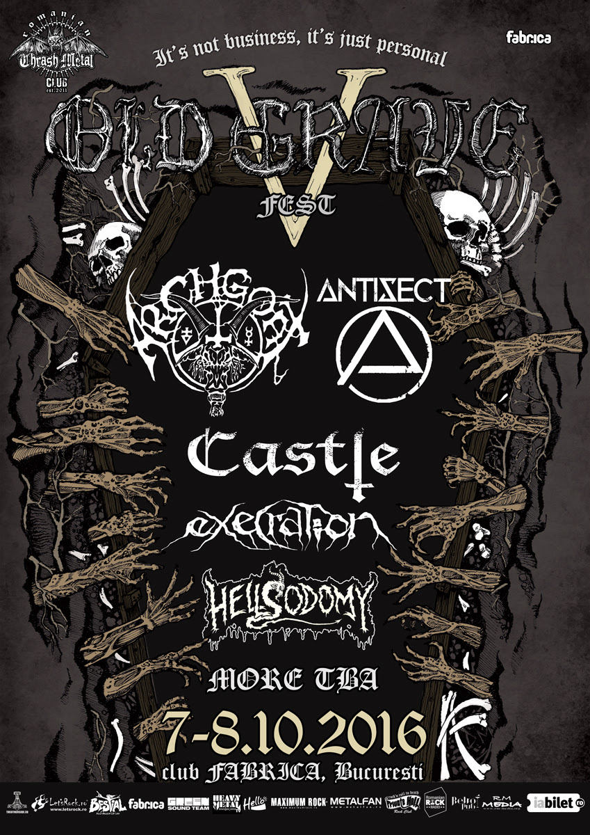 Varathron (Greece), Diskord (Norway) and Stereo Nasty (Ireland) live at Old Grave Fest 2016