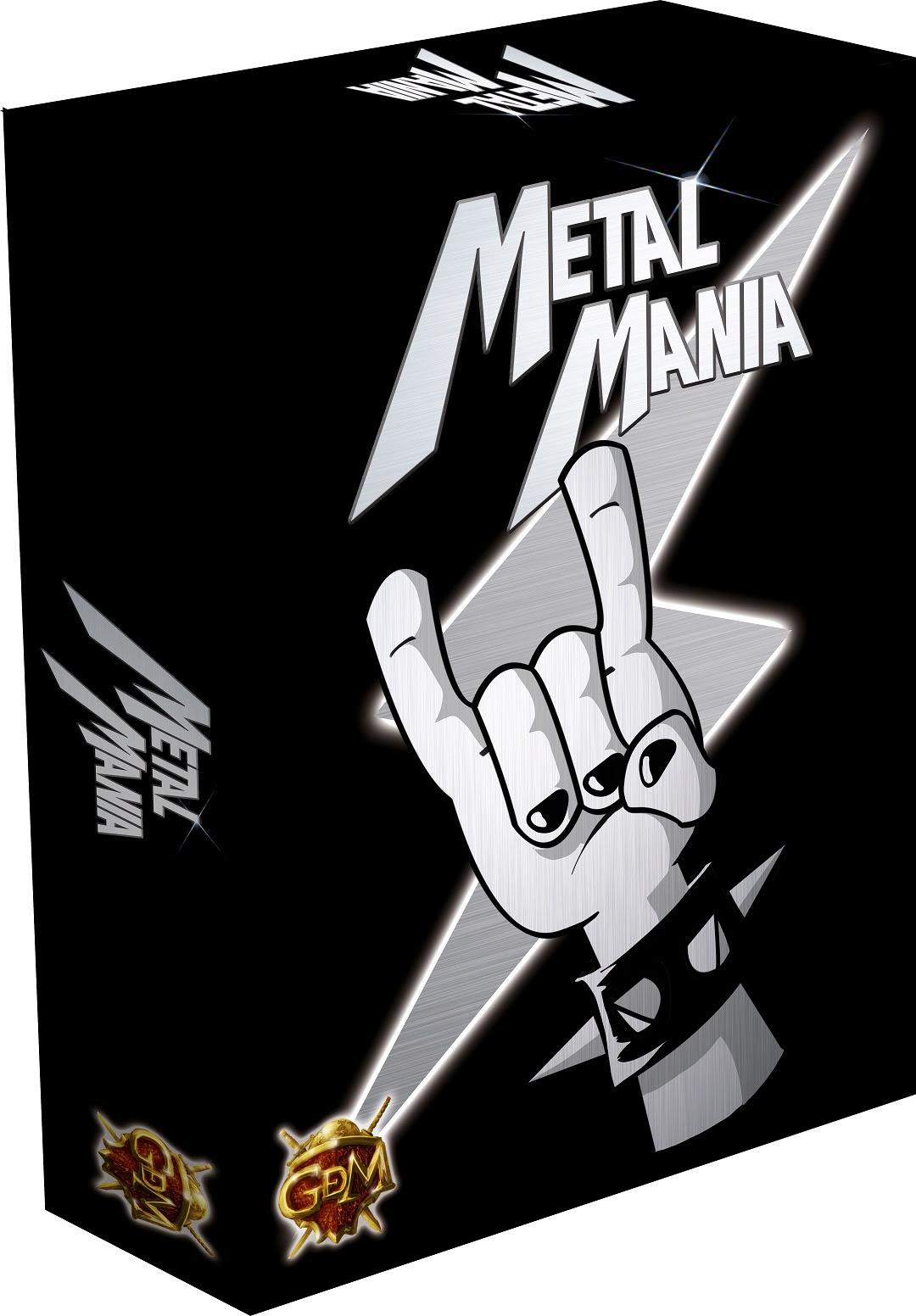 Resultado de imagen de metal mania verkami