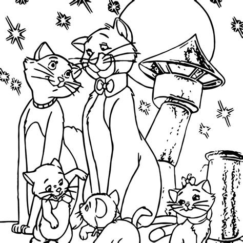 cat family coloring pages  getcoloringscom