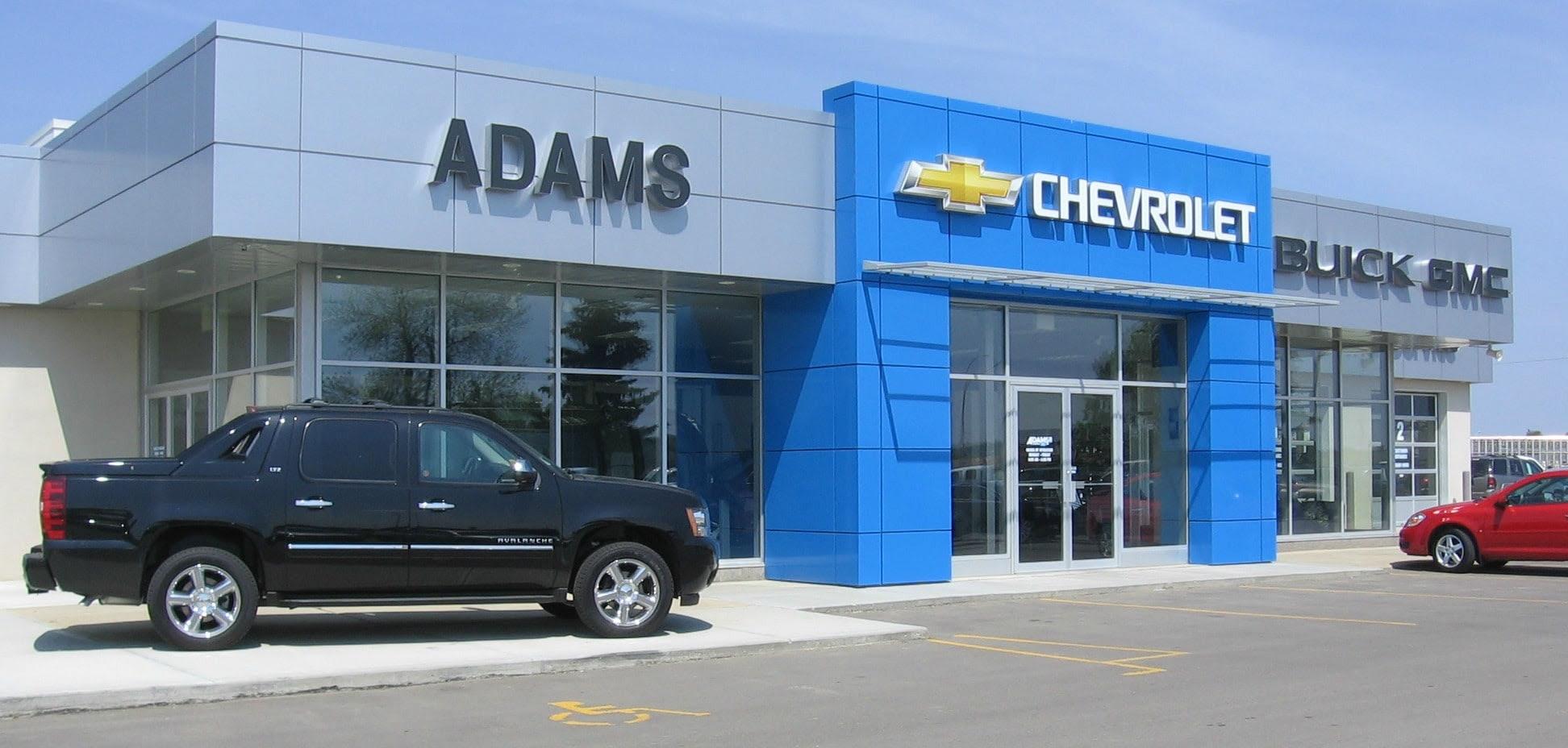 Chevrolet Buick Gmc Dealer In Ponoka Adams Chevrolet Buick Gmc