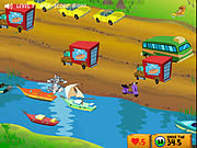 Jogar Tom and jerry cat crossing Jogos