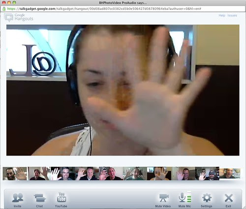My First 10 Person Google Plus Hangout by stevegarfield
