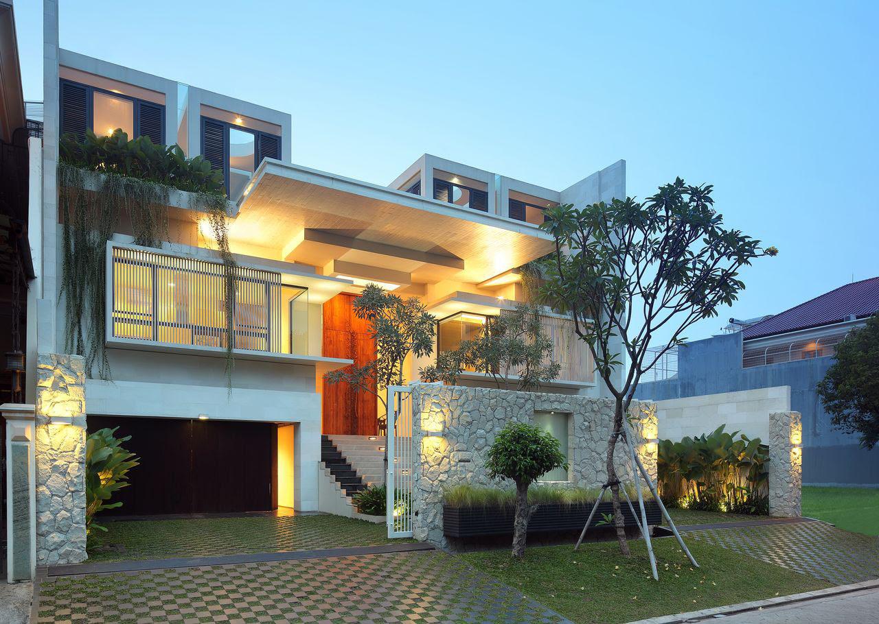 Luxury Garden House In Jakarta  iDesignArch  Interior Design, Architecture  Interior