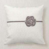 Vintage Rose Pillow