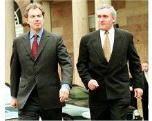 Tony Blair e Bertie Ahern