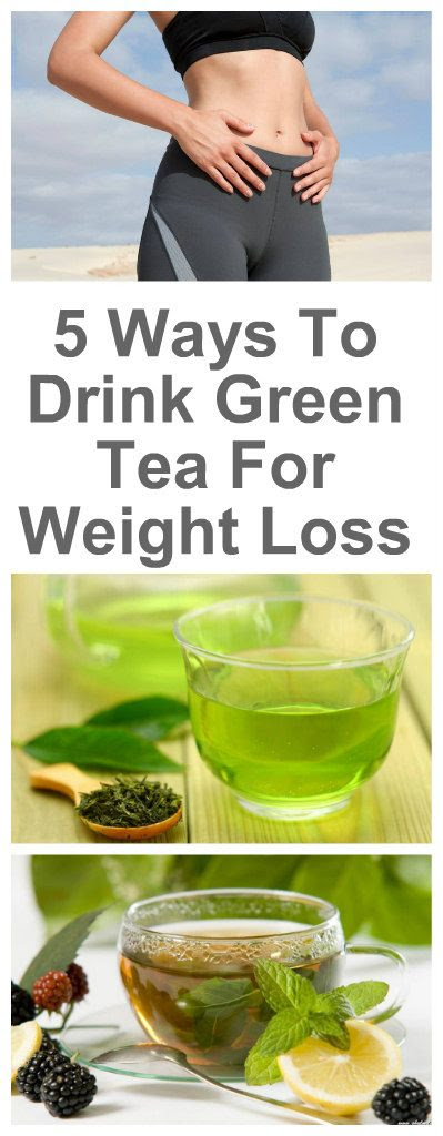 4 Ways To Drink Green Tea For Weight Loss