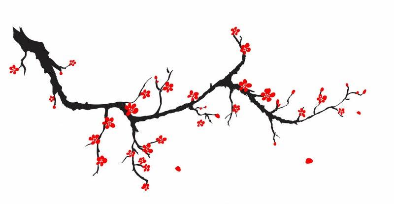 Kiraz çiçeği Dalı Noa Gergi Tavan Izmir Germe Tavan Ve Dekorasyon