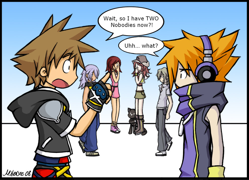 Real Madrid And Barcelona 2012 The World Ends With You Neku Cosplay