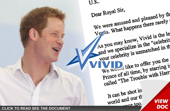 #BREAKINGNEWS : PRINCE HARRY Offered $10 MILLION To Bone on Film
