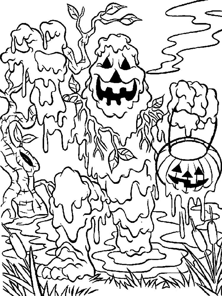 Dibujos Para Colorear Monstruos Para Niños