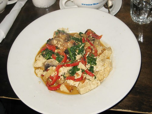 scrambled tofu for breakfast