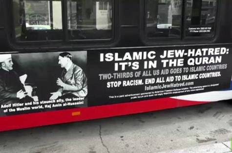 Anti-Islam bus ad angers Muslims, Christians and Jewish leaders