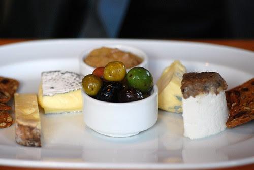 BC artisanal cheese plate