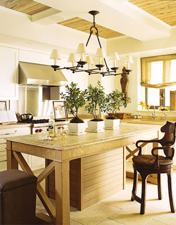 Lights above Kitchen Island