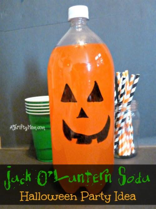 Jack O Lantern Soda Great Halloween Party Idea Party Halloween