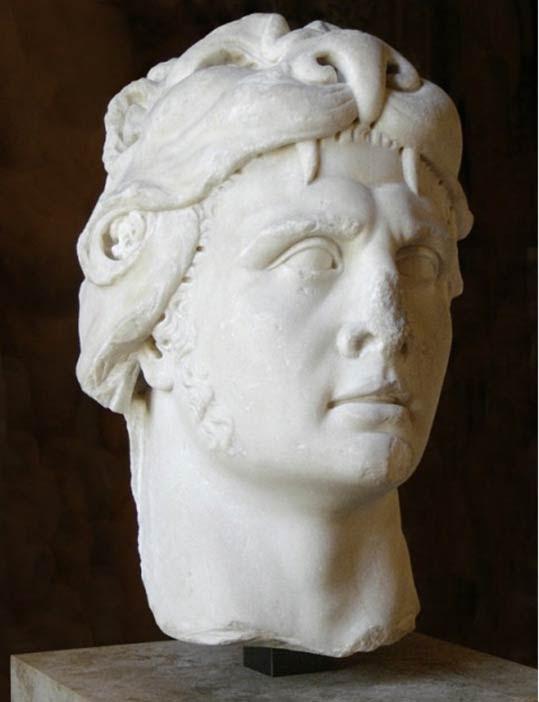 Una representación del rey Mitrídates VI