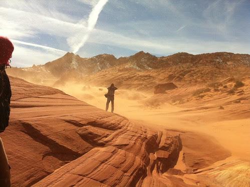 Coyote Buttes North Sandstorm