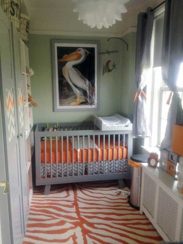 22 Steal-Worthy Decorating Ideas For Small Baby Nurseries ...
