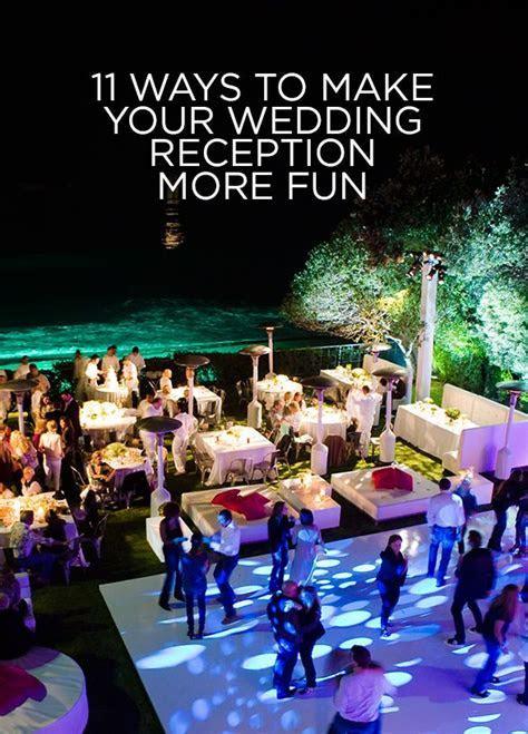 Best 20  Fun wedding reception ideas ideas on Pinterest