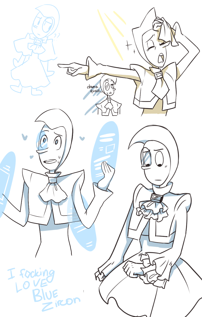 I???don't??know??? I just couldn't sleep because of the temperature and decided to see what was happening in SU and HELLO ZIRCON NEW WAIFU