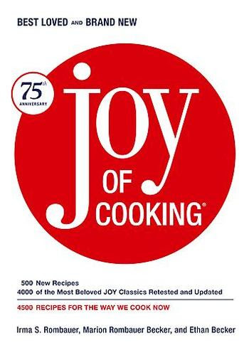 75th Anniversary Edition of Joy of Cooking