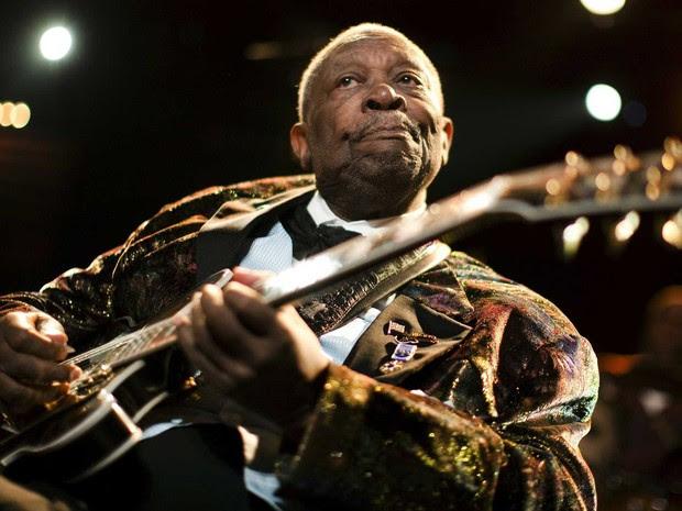 B.B. King em Montreux, em julho de 2009. (Foto: Valentin Flauraud / Reuters)