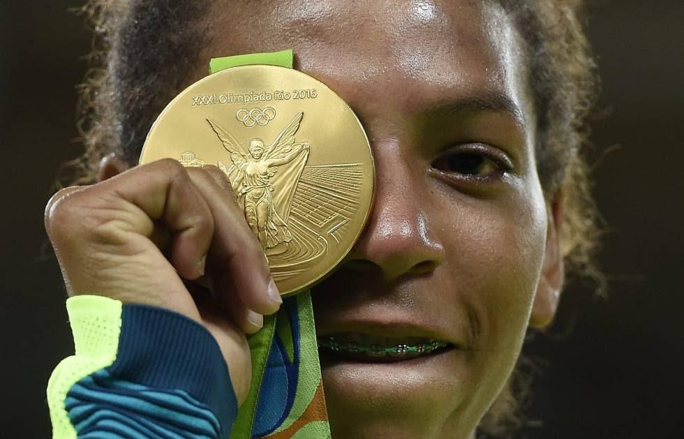 Rafaela Silva, medalha de ouro no Judo Olimpiadas Rio 2016