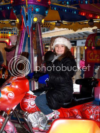 Gabby on ride