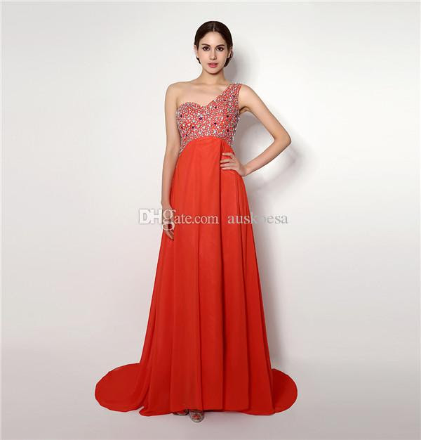 Red dresses evening wear