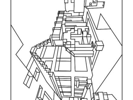 minecraft world coloring pages at getdrawings  free download