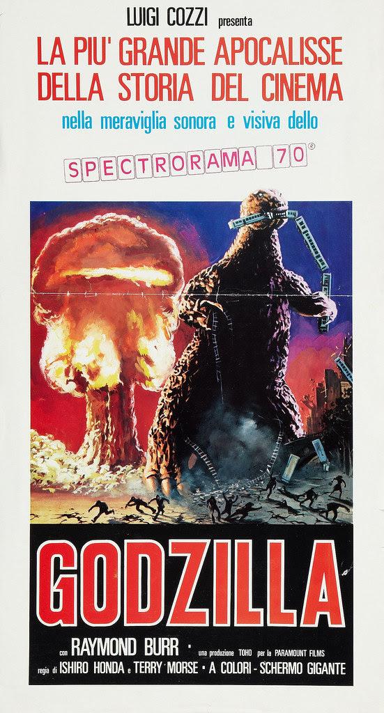 Godzilla (Paramount, R-1970s). Italian